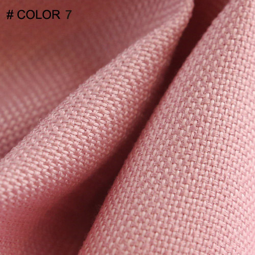 cortina de color de 7