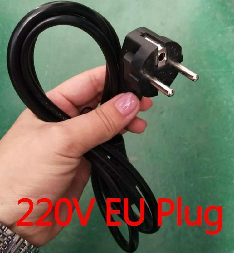 220V enchufe de la UE