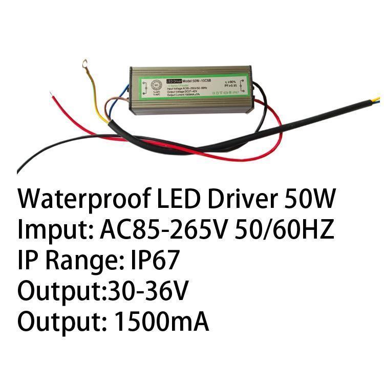 50W IP67 LED Driver