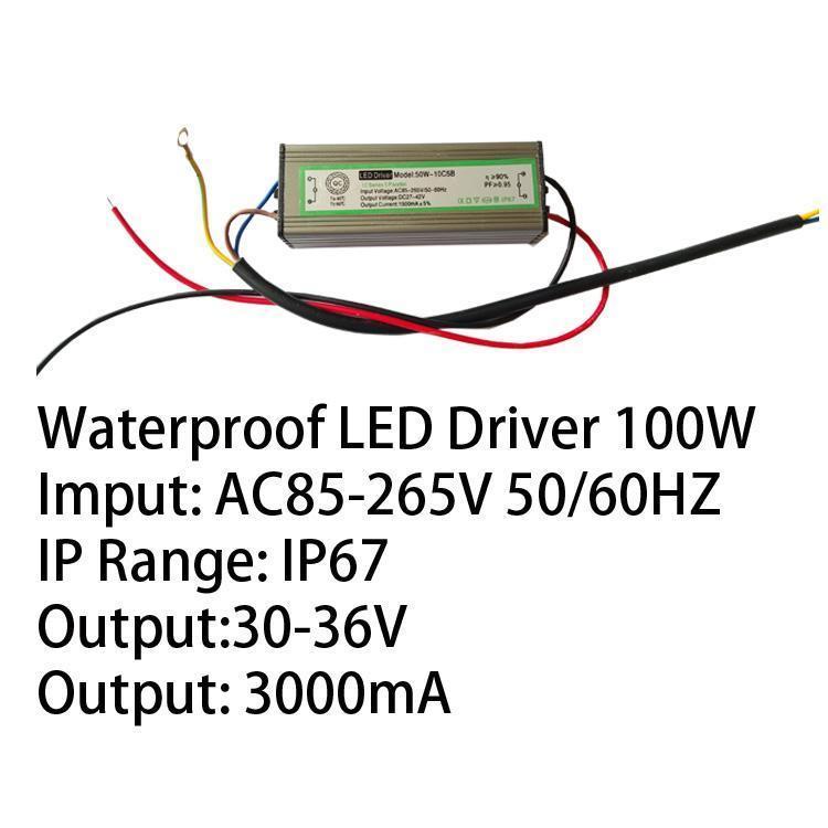 100W IP67 LED Driver