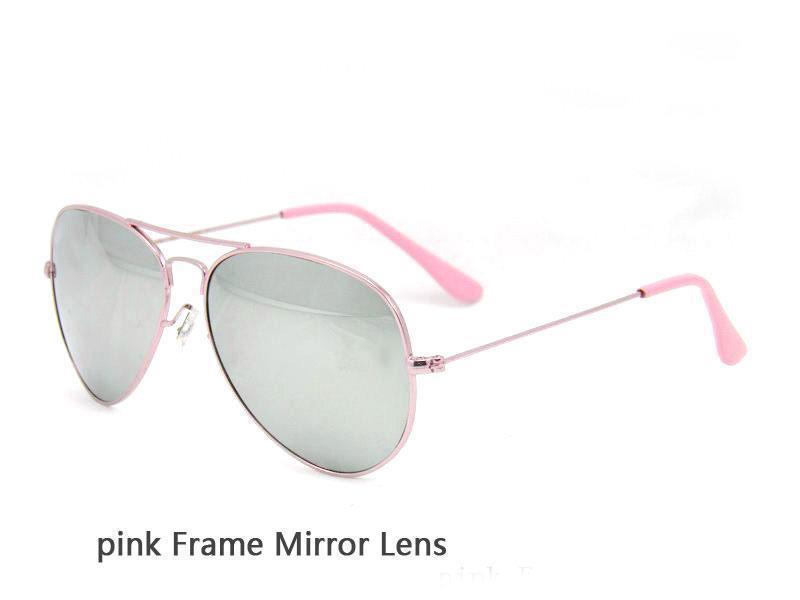 pink Frame Mirror Lens