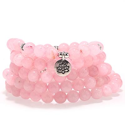 Pedra de cristal rosa