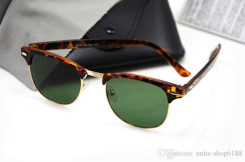 Tortoise Frame Green Lens