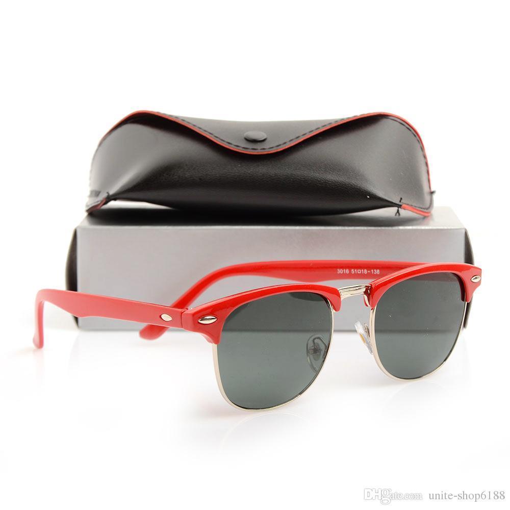 Red Frame gray Lens