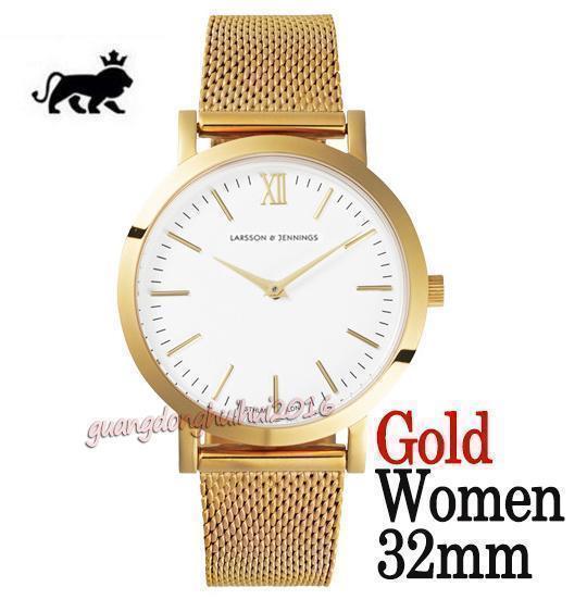 quadrante bianco oro 32mm