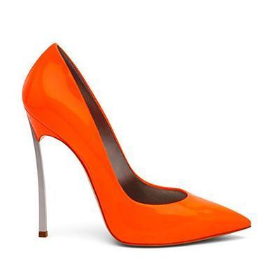 15 patent leather orange