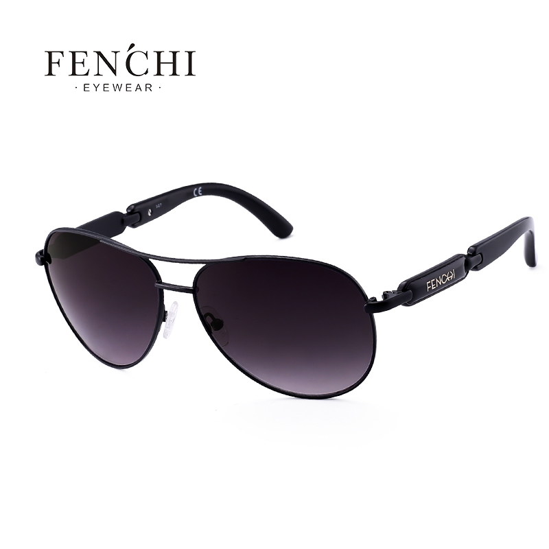 9d13801a1a8 2019 FENCHI 2018 Sunglasses Metal Driving Pilot Mirror Glasses Fashion  Design New Sunglasses Women High Quality Pink C18110601 From Tong06