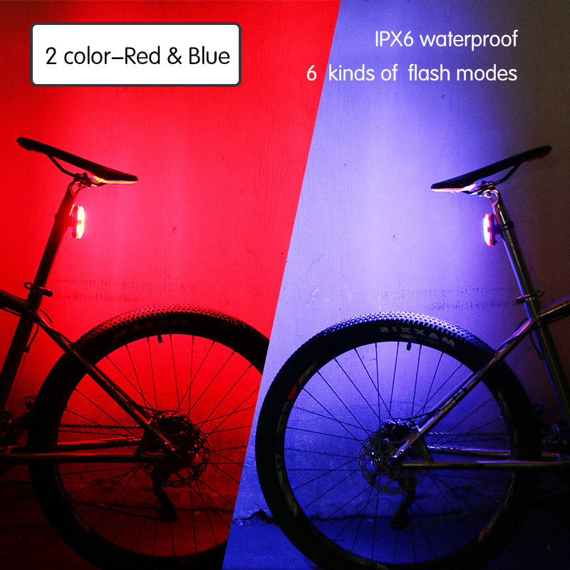 2 Colors Red Blue