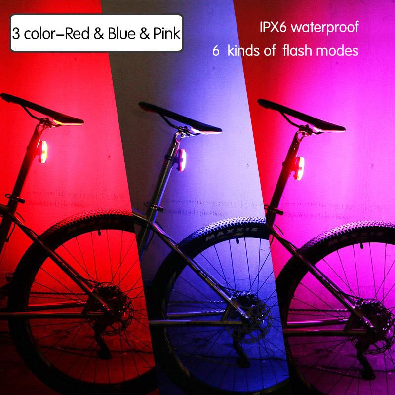 3Color Red Blue Pink