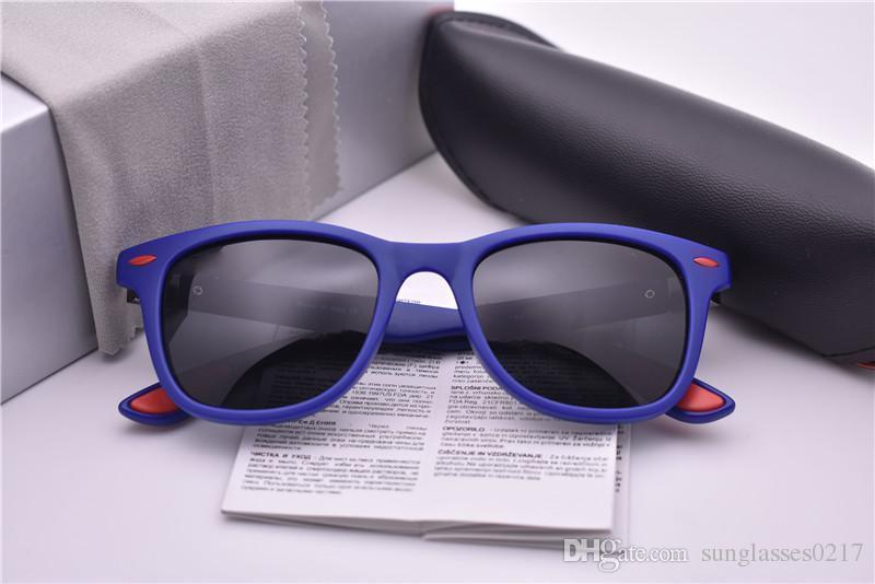 4195 синий рамка черный поляризованные линзы