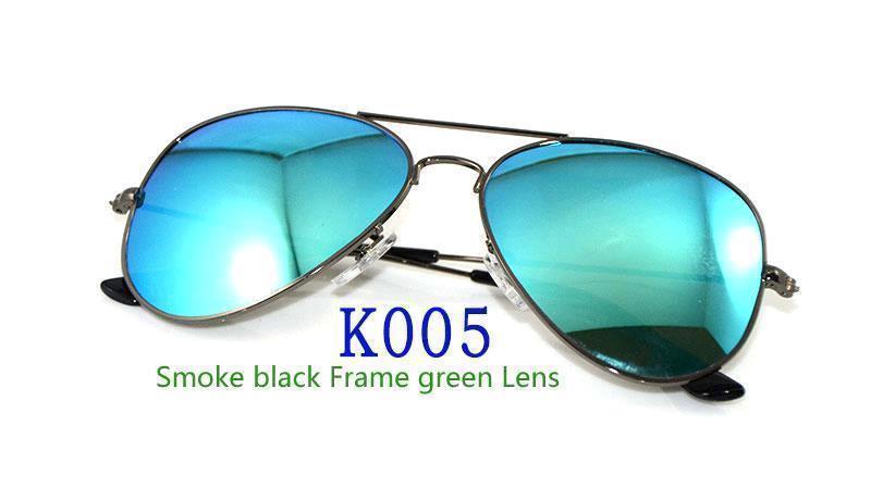 Smoke black Frame Green Lens