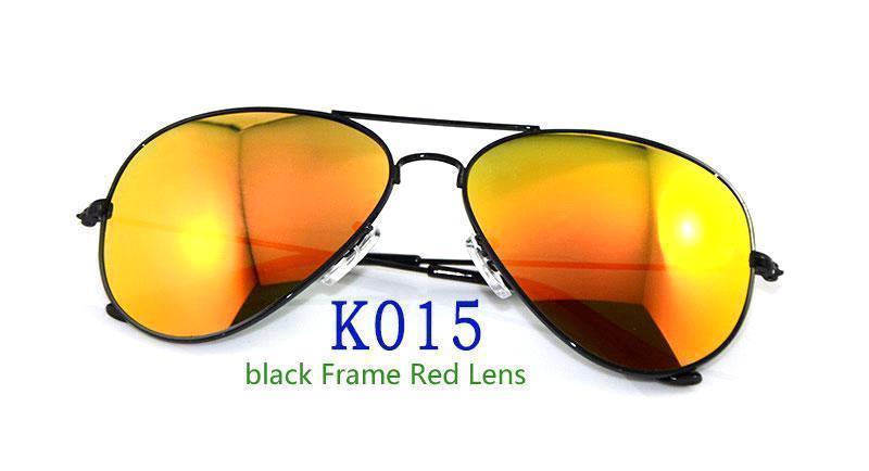 Black Frame Red Lens