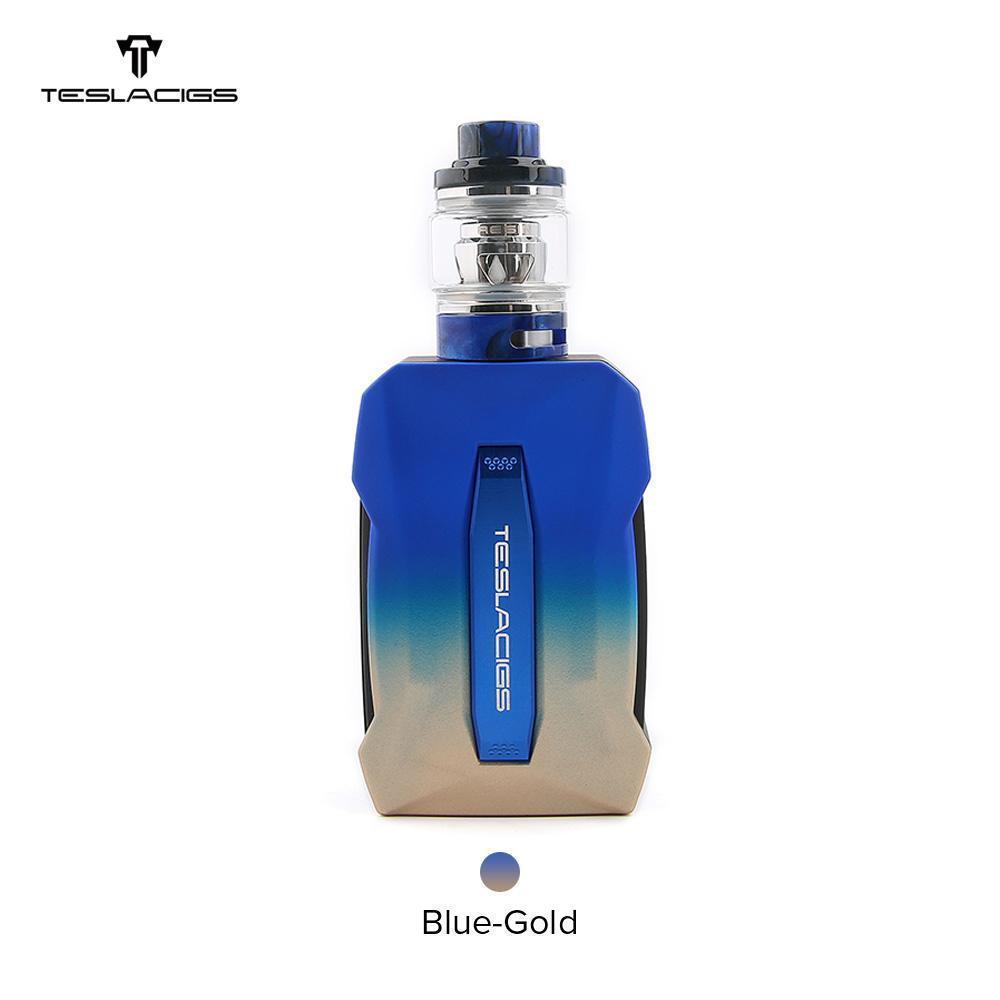Azul al oro