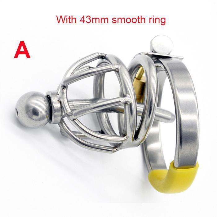 A- Bague lisse de 43 mm
