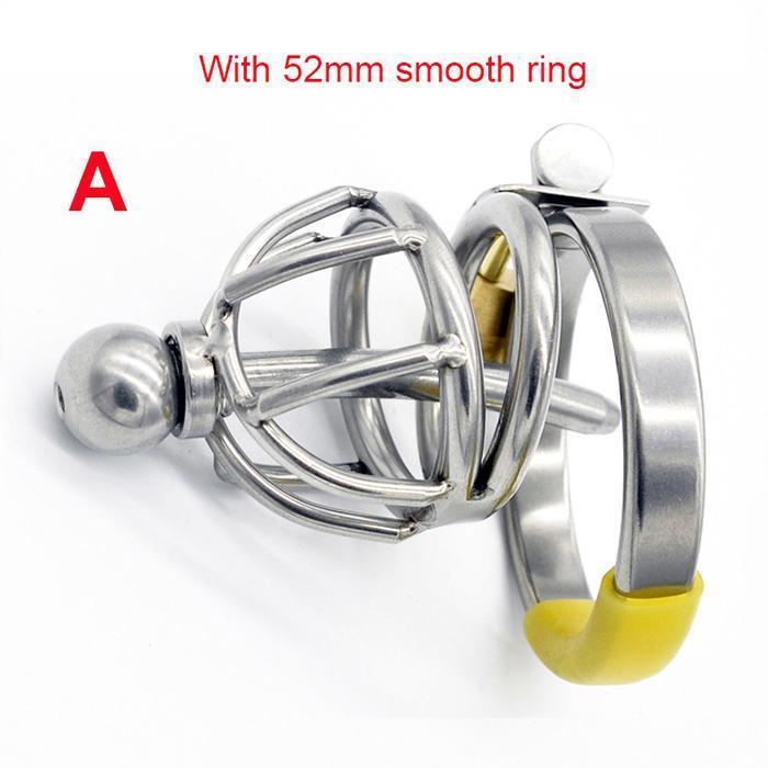 A- Bague lisse de 52 mm
