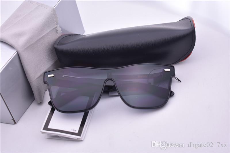 4440 إطار أسود عدسة مرآة سوداء