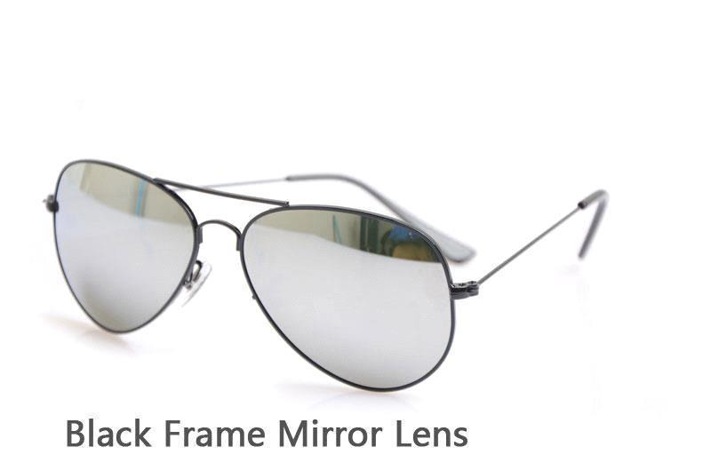 Black Frame Mirror Lens