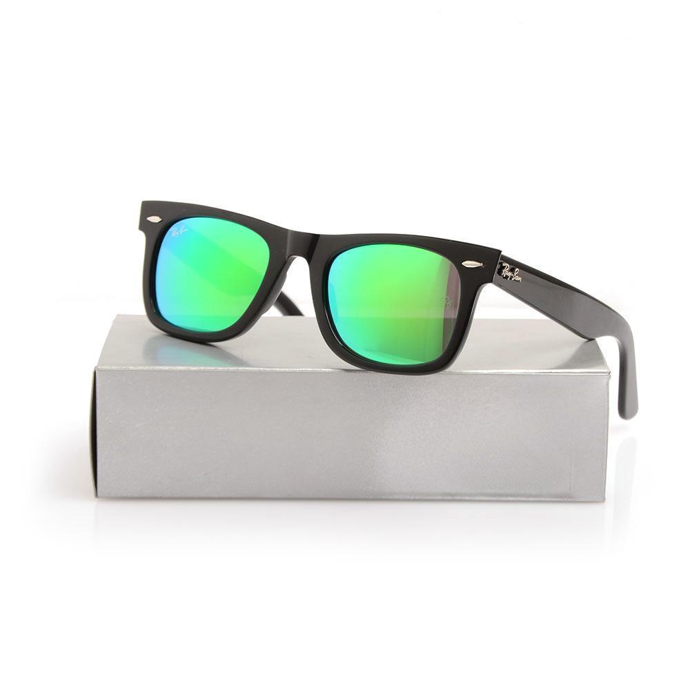 Black Frame green Color film Lens 50mm