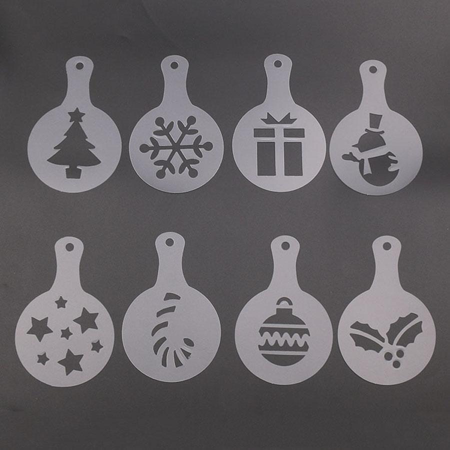 8pcs / set Weihnachten