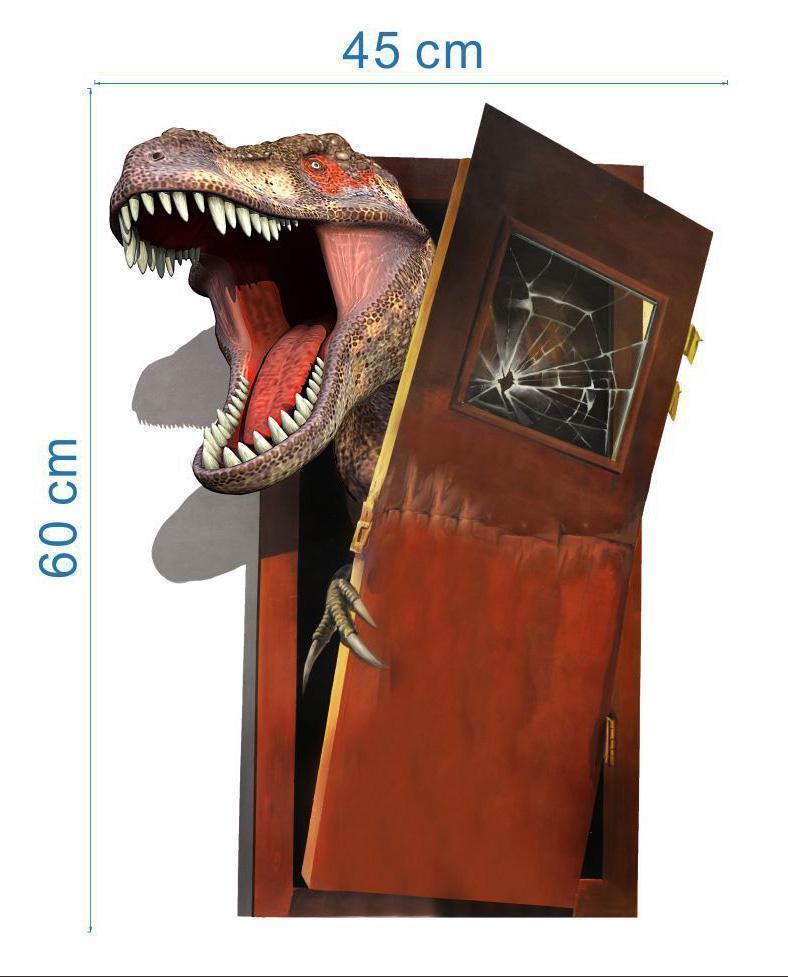 3D dinosaur 60*45