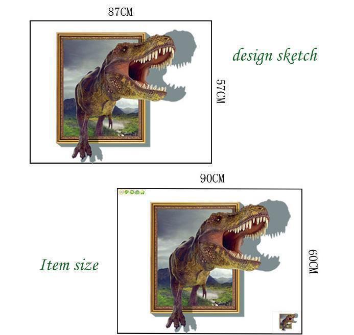 3D dinosaur 60*90