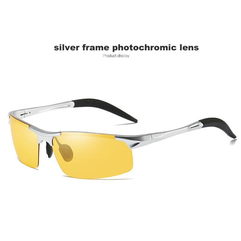 silver frame yellow lens