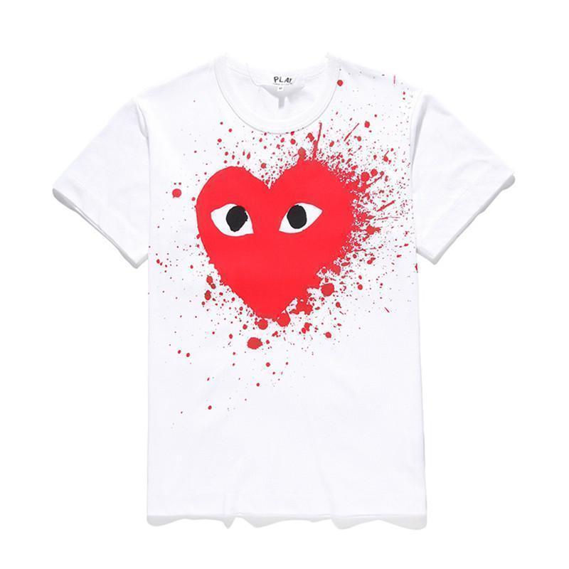 Beyaz kırmızı kalp