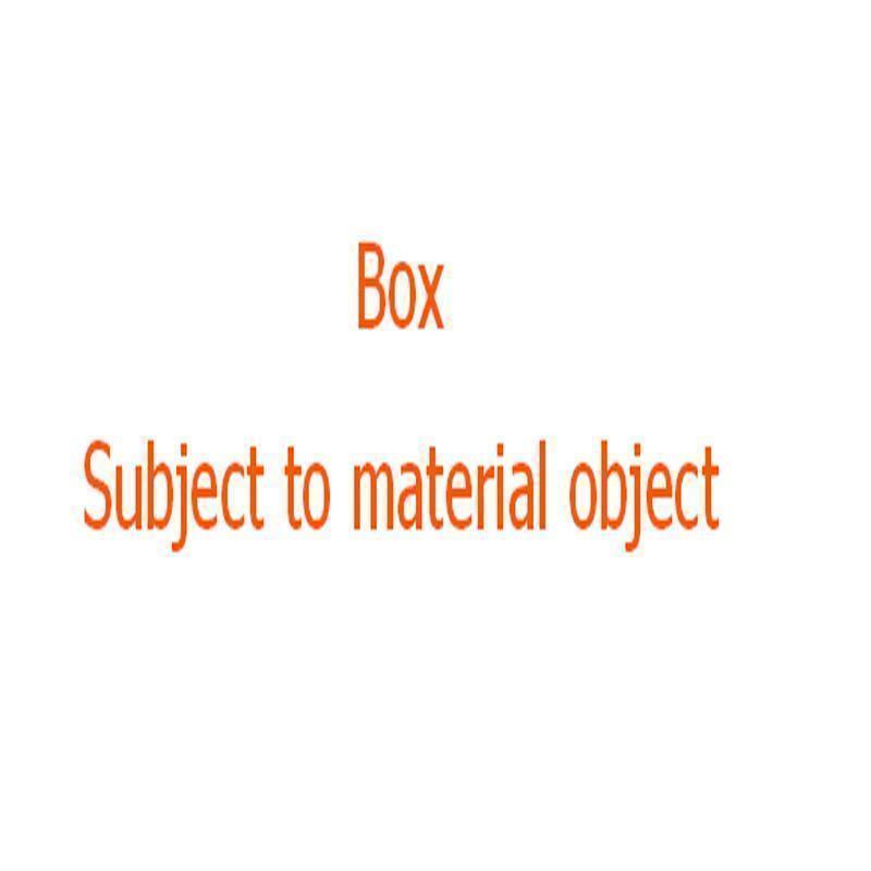 BOX keine Tasche