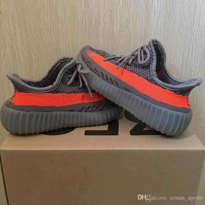 Grey Orange Stripe