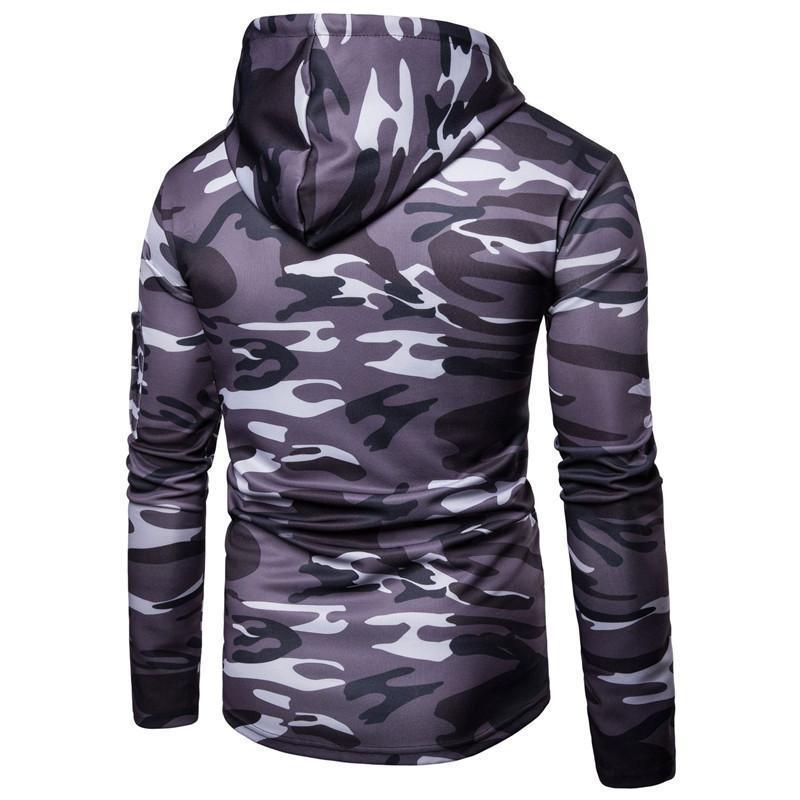 Tiefen grauen Camouflage