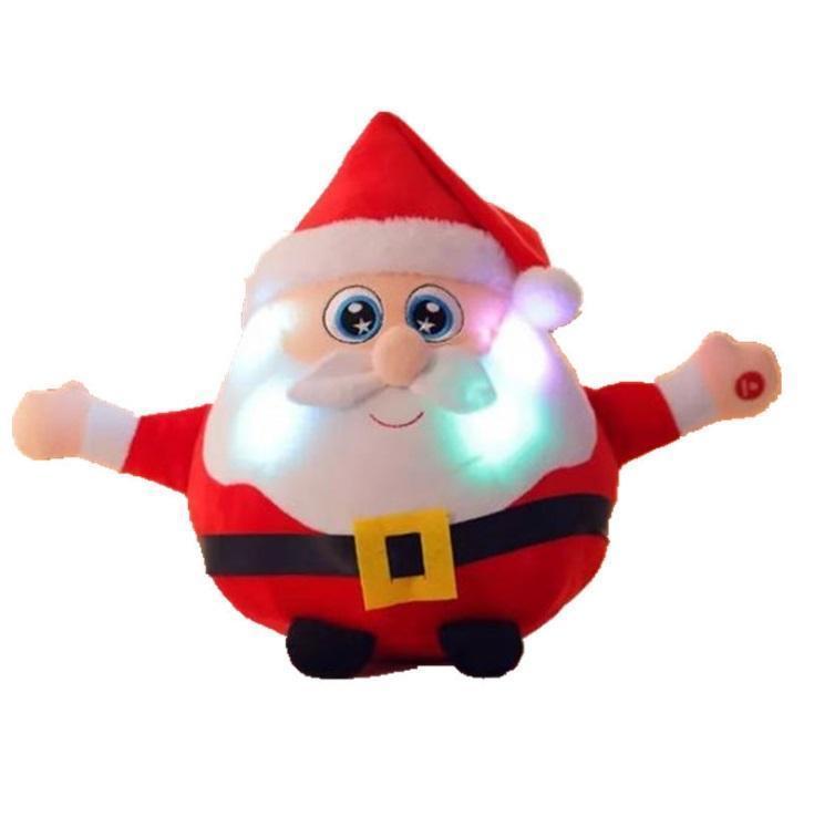Sound and light style Santa