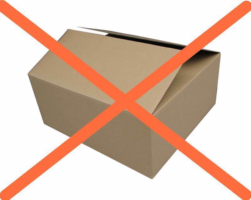 senza scatola