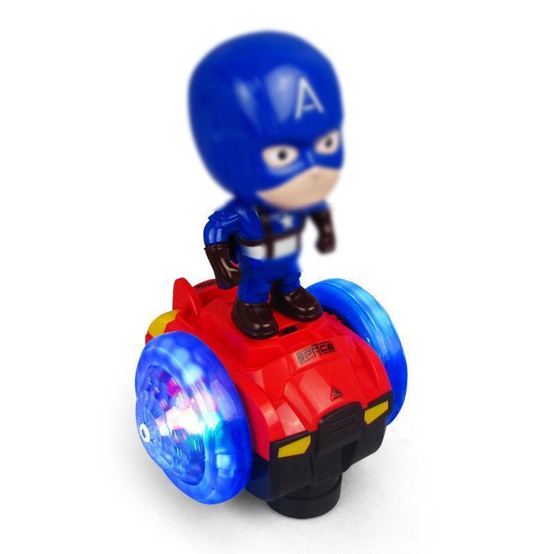 Carro de equilíbrio de capitão azul