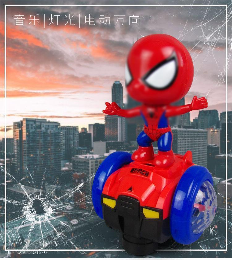 Carro de equilíbrio do homem aranha