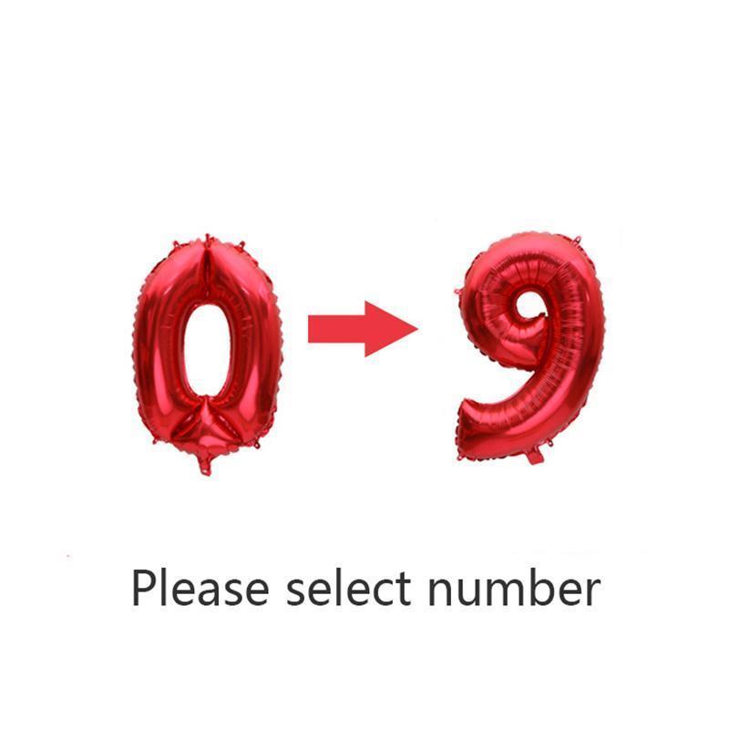 rouge / numéro de note 0-9