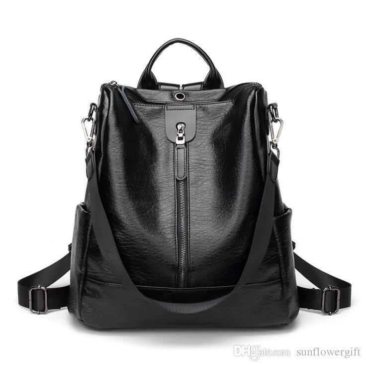 Black-single zipper