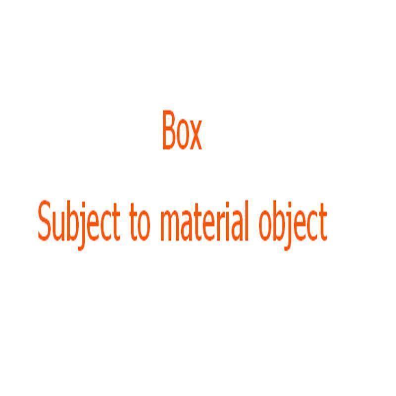 BOX (no bag)