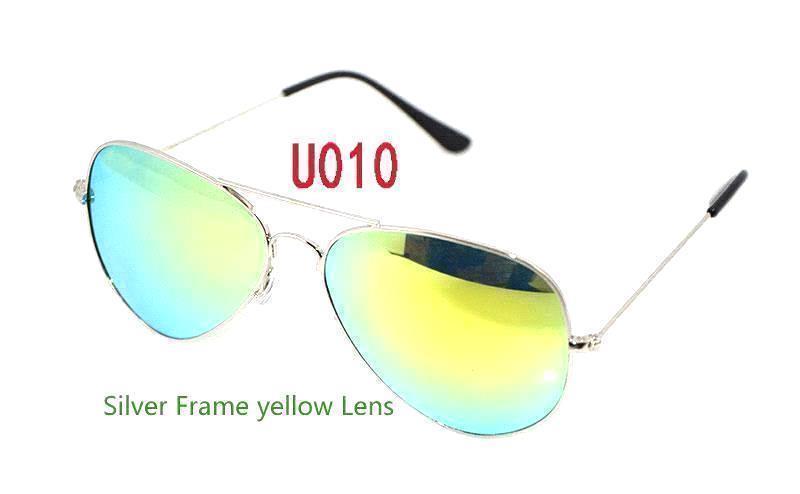 Silver Frame yellow Lens
