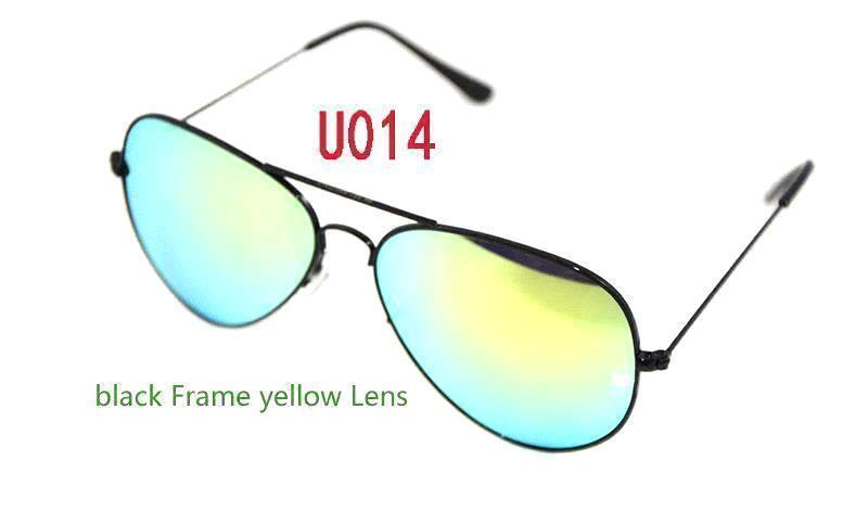 black Frame yellow Lens