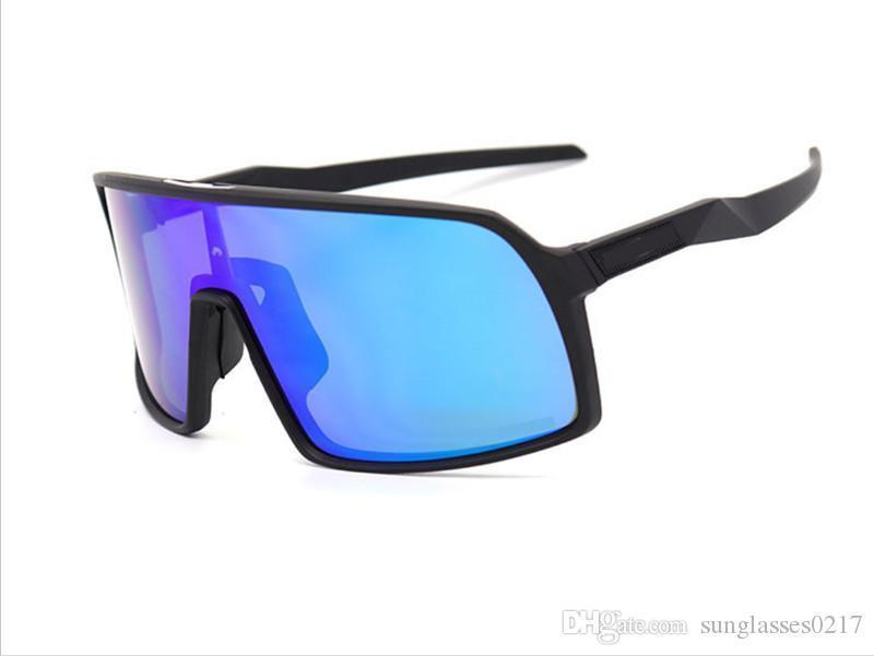9406 черная рамка синяя линза