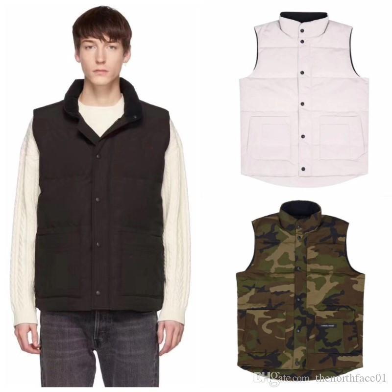 order online offer discounts quite nice 2019 Luxury Vest Down Jacket Men Women Casual Down Coats Canada Winter  Jacket Mens Outdoor Warm Parkas Mens Winter Coats From Dengfengzaoji04,  $40.91 ...