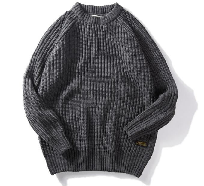 Mens Clothing Sweaters Vintage Vogue Knitted Pullovers Autumn Winter Warm Slim Fit Sweatshirts Tops