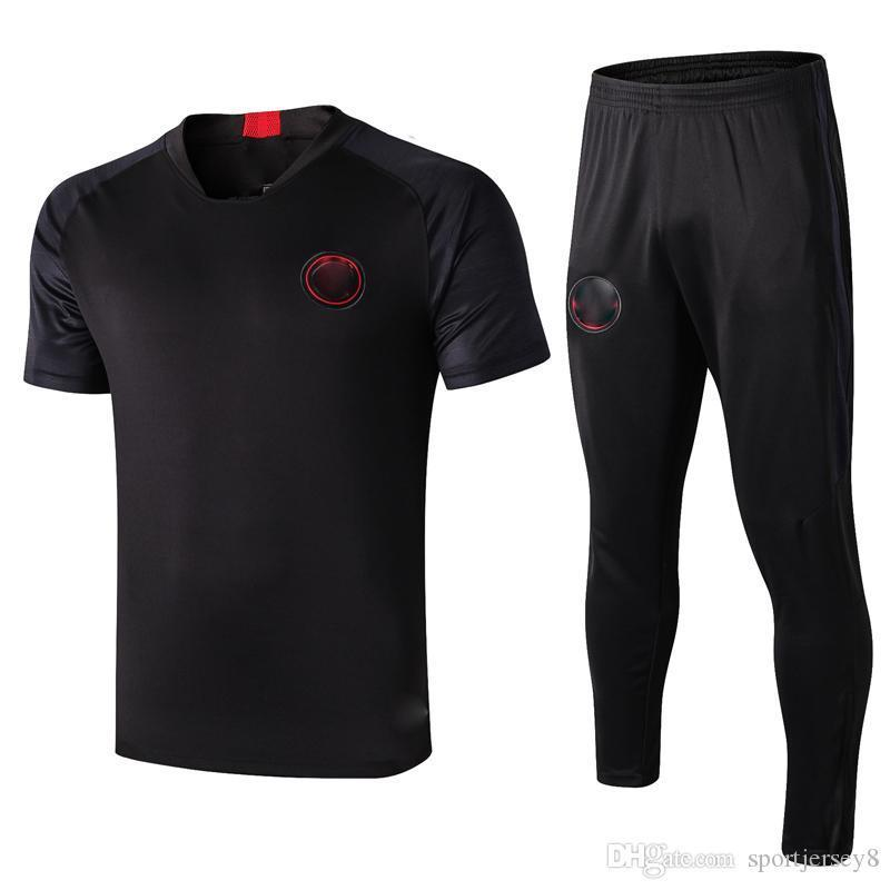 D309# 1920 Short sleeve black kit