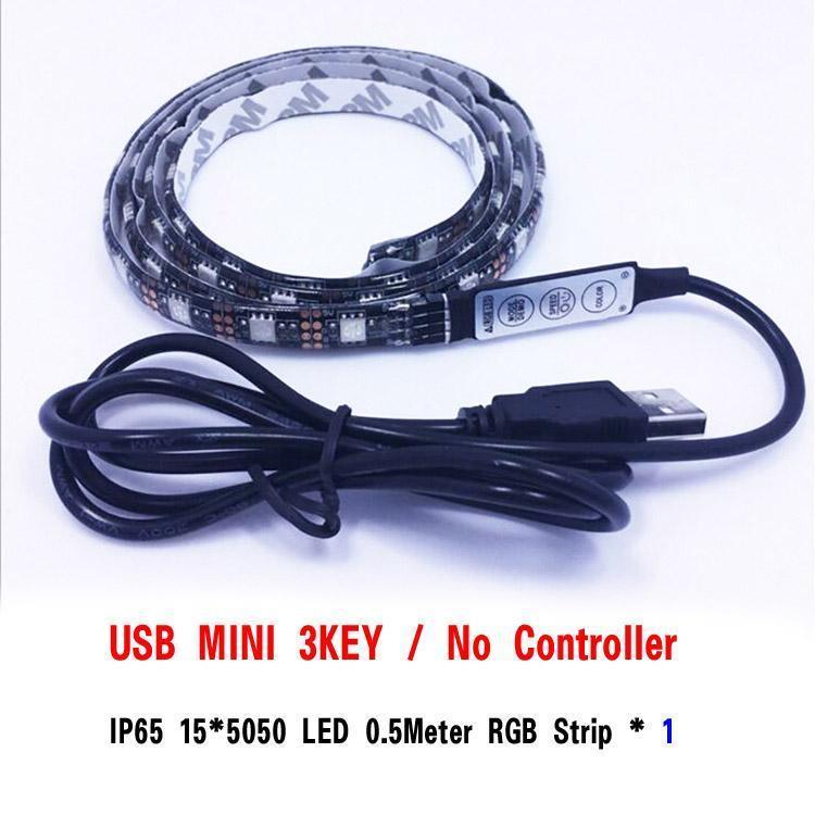 MiNi 3KEY RGB 50 centímetros 5050 15LEDs IP65