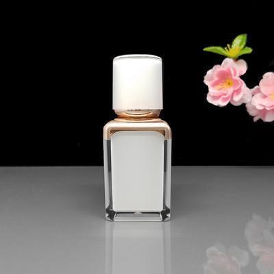 15ML blanc flacon pompe airless crème