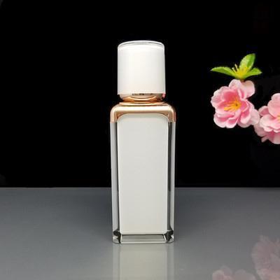 30ML blanc flacon pompe airless crème