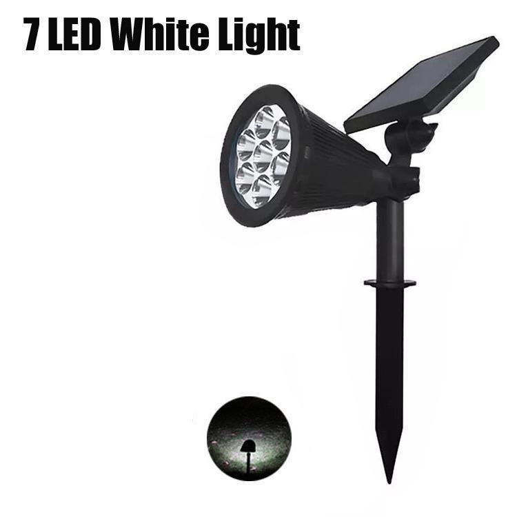 7 LED de luz branca