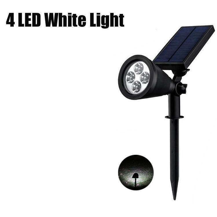 4 개의 백색 LED 조명