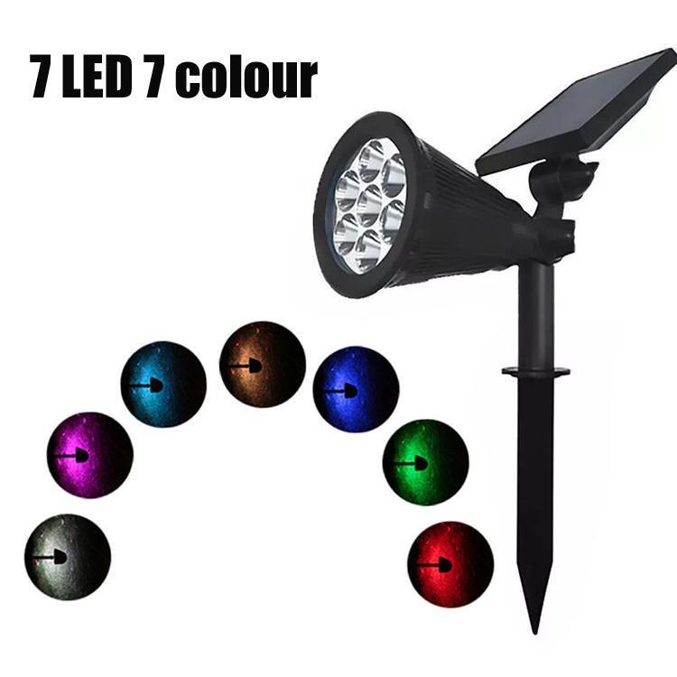 7 LED RGB