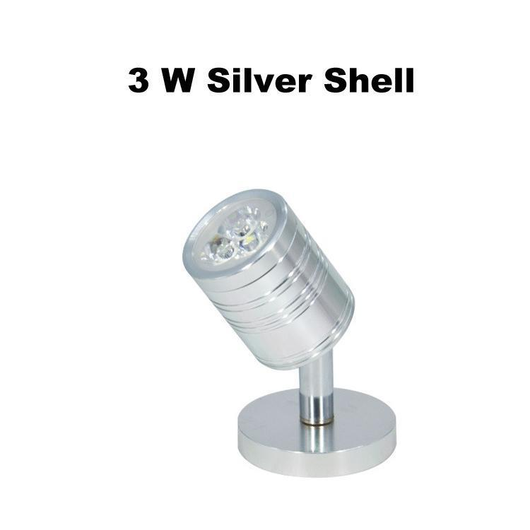 3 W Shell Argento